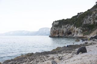 Пляж рядом с Cala Gonone
