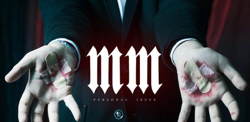 Постер Marilyn Manson: Personal Jesus.